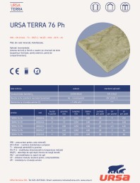 Placi usoare din vata minerala hidrofobizate