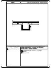 Pereti de compartimentare - inglobarea unui stalp de BA in structura peretelui - sectiune orizontala URSA