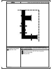 Pereti de compartimentare - pe structura dubla de lemn, placare dubla - sectiune orizontala URSA