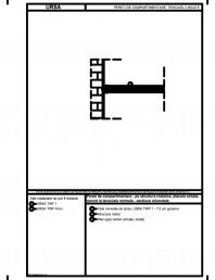 Pereti de compartimentare - pe structura metalica, placare simpla, racord la tencuiala normala - sectiune orizontala