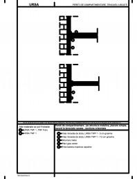 Pereti de compartimentare - pe structura metalica, placare simpla, racord la tencuiala uscata - sectiune orizontala