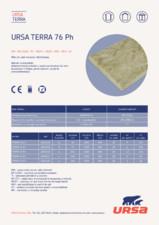 Placi din vata minerala de sticla URSA