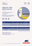Saltea usoara din vata minerala de sticla URSA - PLUS AB