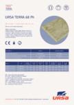 Placi hidrofobizate din vata minerala URSA - TERRA 68Ph