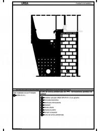 Curte de lumina prefabricata din PPE - termoizolarea peretelui de subsol