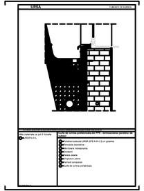 Curte de lumina prefabricata din PPE - termoizolarea peretelui de subsol URSA