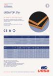 Placi usoare din vata minerala de sticla URSA - FDP 2/Vr