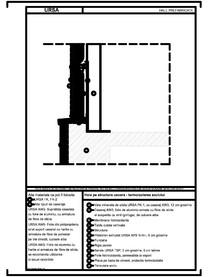 Hala pe structura usoara - termoizolarea soclului URSA