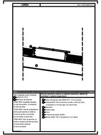 Hala pe structura usoara, cu placare exterioara, detaliu de luminator in planul acoperisului URSA