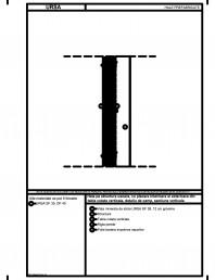 Hala pe structura usoara cu placare interioara si exterioara din tabla cutata verticala detaliu de camp