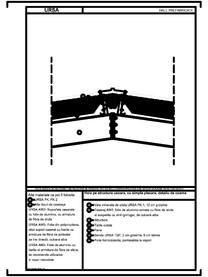 Hala pe structura usoara, cu simpla placare, detaliu de coama URSA