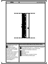 Hala pe structura usoara, detaliu de camp, sectiune verticala URSA