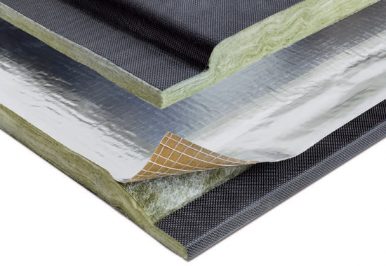 Vata minerala URSA pentru constructia de conducte de climatizare si ventilare