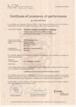 Certifcat de performanta URSA - TERRA 78 Ph, FDP 5,  TF R2/Ah