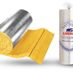 Vata minerala URSA cu fibra verticala pentru izolarea conductelor a boilerelor si a instalatiilor de orice