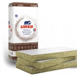 Vata minerala URSA cu montaj prin lipire pentru izolarea la interior a plafoanelor la pivnite garaje