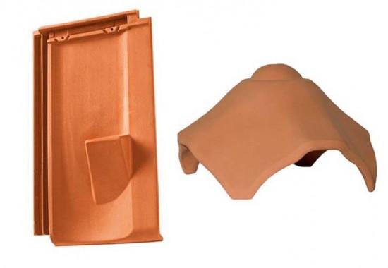 Accesorii ceramice pentru acoperis TONDACH