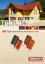 Tigla ceramica XXL TONDACH
