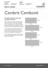 Placi fibrociment pentru fatade ventilate CEMBRIT