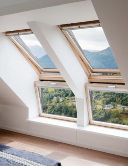 Fereastra verticala pentru combinatie cu fereastra de mansarda - VELUX VFE Interior VFE Fereastra verticala pentru