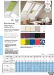 Rulou decorativ VELUX - RHL, RFL