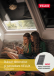 VELUX - Rulouri decorative  si parasolare Colectia 2020 VELUX