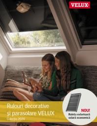 VELUX - Rulouri decorative  si parasolare Colectia 2020