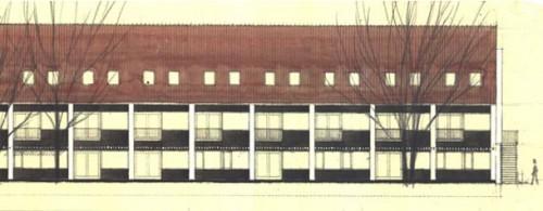 Lucrari de referinta Parcul Soelleroed, case aliniate, DANEMARCA VELUX - Poza 1