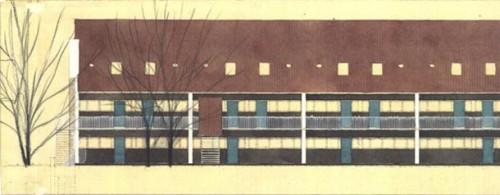 Lucrari de referinta Parcul Soelleroed, case aliniate, DANEMARCA VELUX - Poza 9