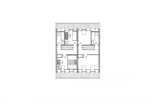 Lucrari de referinta Parcul Soelleroed, case aliniate, DANEMARCA VELUX - Poza 4