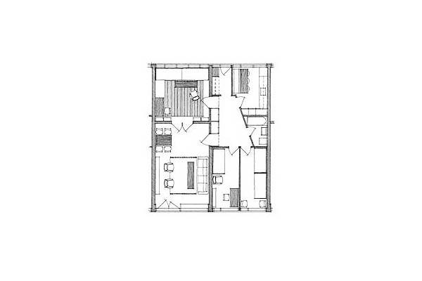 Parcul Soelleroed, case aliniate, DANEMARCA VELUX - Poza 2