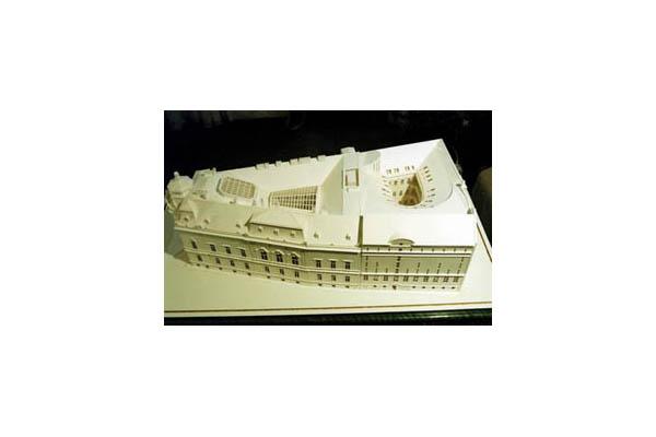Biblioteca Universitara, vechiul palat si noua extindere, UNGARIA VELUX - Poza 2