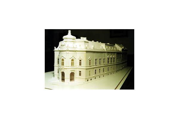 Biblioteca Universitara, vechiul palat si noua extindere, UNGARIA VELUX - Poza 6