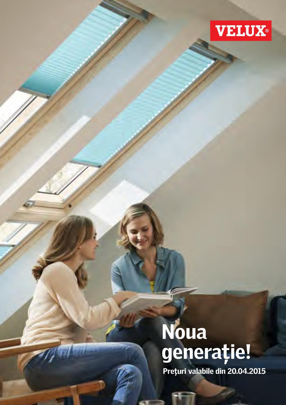 catalog brosura ferestre de mansarda si accesorii noua generatie 2015 klr 200 kmg 100 k kux. Black Bedroom Furniture Sets. Home Design Ideas