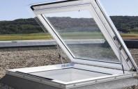 Fereastre pentru acoperis terasa cu pante cuprinse intre 0 si 15 grade VELUX