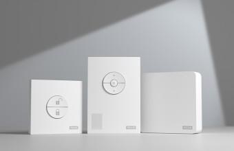 Kit de control climatic pentru temperatura, umiditate si CO2 din locuinte