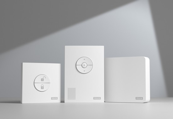 Kit de control climatic pentru temperatura, umiditate si CO2 din locuinte VELUX