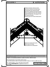 Acoperis cu termoizolatia pe astereala, cu spatiu de ventilare - detaliu de coama AUSTROTHERM