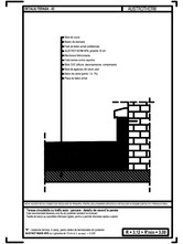 Terasa circulabila cu trafic auto - parcare - detaliu de racord la perete AUSTROTHERM