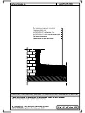 Terasa necirculabila, cu panta realizata din termoizolatie - detaliu de racord la perete AUSTROTHERM