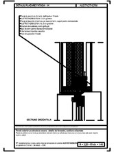 Perete exterior pe structura usoara - detaliu de fereastra, sectiune orizontala AUSTROTHERM