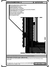 Perete exterior pe structura usoara - detaliu de soclu AUSTROTHERM
