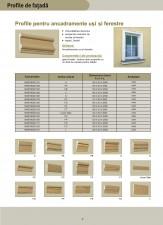 Profile pentru ancadramente usi si ferestre AUSTROTHERM