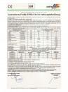 Declaratie de conformitate - Profile EPS Chei de bolta, capiteluri si pietre de bosaj