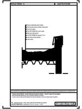 Terasa necirculabila, pe structura usoara - detaliu de racord la gura de scurgere AUSTROTHERM