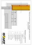 Casa pe structura de lemn - izolatie intre montanti si in fata montantilor ISOVER