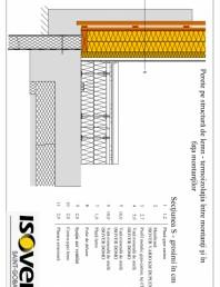 Casa pe structura de lemn - izolatie intre montanti si in fata montantilor