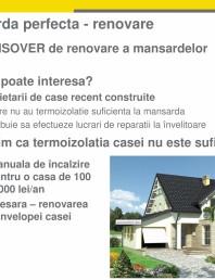 Sistem Isover de renovare mansarde