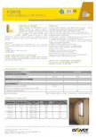 Saltele semirigide din vata minerala de sticla ISOVER - FORTE (ROLA)