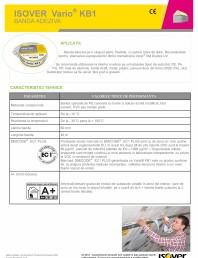 Banda adeziva ISOVER VARIO® KB